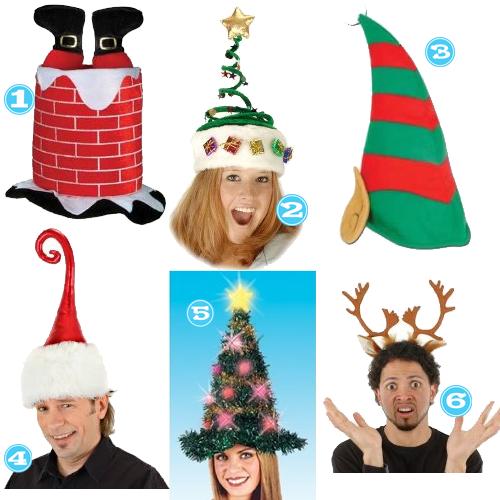 der-christmas hats