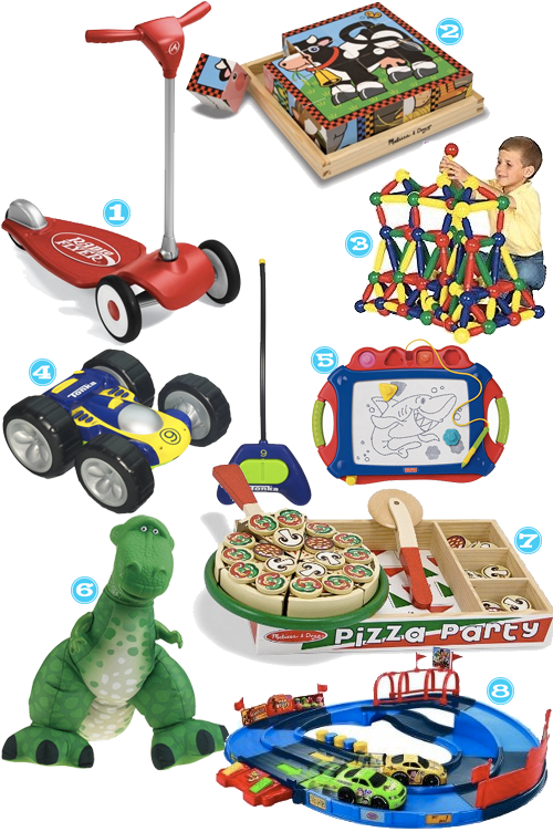 Holiday Gift Guides: 2 Year Old Toddler Boys | Tipsy Society