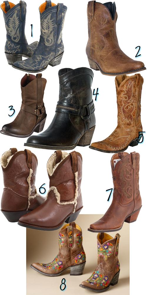 Cowboy Boots + Leg Warmers | Tipsy Society