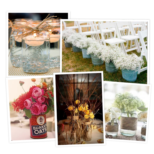 Post image for Denim and Diamonds Centerpiece Options